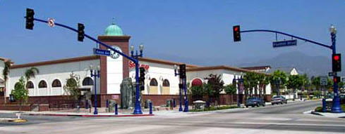 Picture of the corner of Foothill Boulevard and Azusa Avenue