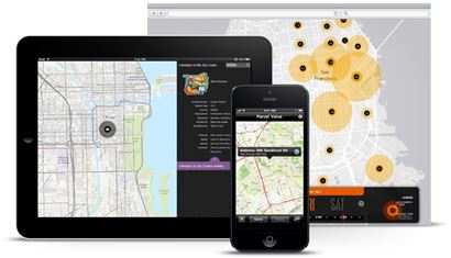 tools for developers mobile maps